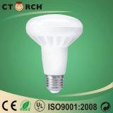 Base de alumínio do bulbo E14 do diodo emissor de luz de Ctorch R50 9W com certificado