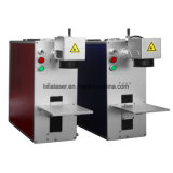 Máquina de fibra óptica da marcação do laser
