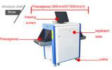 X scanner del bagaglio del raggio per controllo di obbligazione