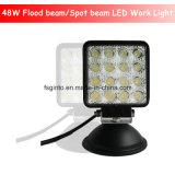 48W Cuadrado 4inch Luz del trabajo del LED (GT1015-48W)