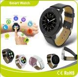 Relógio esperto do Ios de Androind do podómetro da notificação da sincronização de Bluetooth 4.0 Mtk2502 Siri