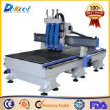 Machine de découpage en bois de couteau de processus de la commande numérique par ordinateur trois à vendre