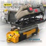 50t de batterij Gedreven Lorrie van het Spoorwegvervoer met het Draaien van de Baai van de Rollen van de Overdracht van de Functie aan Baai