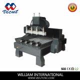 Gravura de madeira do CNC de 10 cabeças/máquina giratórias do router