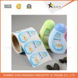 編まれるカスタマイズされた札柔らかい洗濯できるメーカーの布は衣服のラベルに蹄鉄を打つ