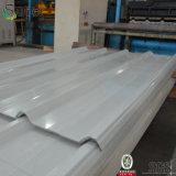 Metal de hoja acanalado del material para techos del color