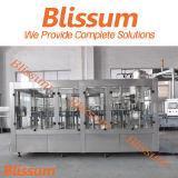 Plastikflaschen-Orangensaft-Plomben-Maschinerie