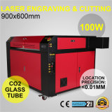 machine de laser Engravering de CO2 de 100W 900X600mm