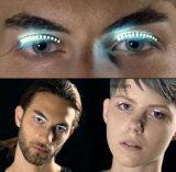 최고 디자인 LED 번쩍이는 눈 채찍질