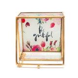 Casella di memoria di vetro elegante dei monili di stampa Handmade dell'OEM (Jb-1072)