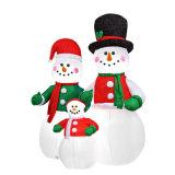 크리스마스 휴일 가족 당 옥외 재미있은 팽창식 눈사람 전시