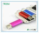 1 년 보장 (WY-pH01)를 가진 지능적인 OTG USB 섬광 드라이브