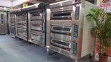 직업적인 디지털 3 갑판 9 쟁반 호화스러운 전기 빵집 오븐