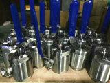 Valvola a sfera ad alta pressione del filetto di Wcb dell'acciaio inossidabile (800LB-16MPa)