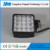 Luz auto de trabajo impermeable del trabajo de las lámparas LED del cuadrado 48W