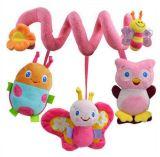 Recém-nascido, macio, pelúcia, bebê, pendurado, carrinho, brinquedo, brinquedo