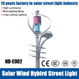 3 jaar van Warranty en 40W Wind Hybrid Solar Street Light LED Light