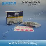 Kit d'essai total de chlore pour le laboratoire à la maison d'utiliser-et