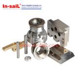 Usinage en aluminium de commande numérique par ordinateur de petite quantité de produits de travail de pièces