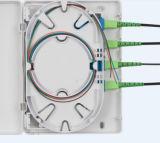 FTTH 1 Doos van de Beëindiging van 2 4 Havens de Optische Mini voor Adapters Sc/FC