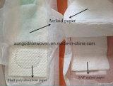 Airlaid Papier mit dem Saft für gesundheitliche Serviette-Wegwerfwindel