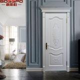 Portello di legno interno della nuova pittura bianca di disegni (GSP2-096)