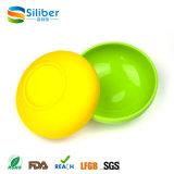 Kom van uitstekende kwaliteit van de Noedel van de Grootte van de Regenboog van het Silicone de Materiële Grote