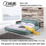 Modern with Bookshelf Leather Bed for Living room Room Fb8151