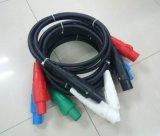 Einphasiges AWG1/0 des Camlok Zufuhr-Kabel-50mm2