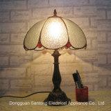 Lampade della Tabella di Tiffany della pittura con le tonalità di vetro