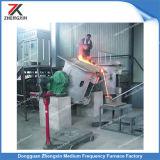 Forno ad induzione di fusione di rame per media frequenza (250KG)