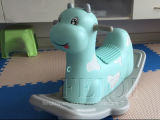 Bebé del juguete del caballo de oscilación de los niños, bebé oscilante del pequeño caballo, caballo de gran tamaño, rompecabezas del bebé, un regalo del año