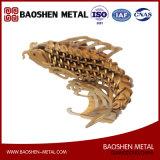 정확하게 제조자에서 Laser 절단 물고기 금속 예술 사무실 또는 선물 /Home 훈장 조각품