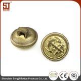 부대를 위한 도매 둥근 Monocolor 개별 스냅 금속 단추