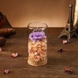 De Natuurlijke Bloem van 100% Met de hand gemaakt voor de Gift van de Dag van de Valentijnskaart