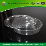 Устранимый пластичный прозрачный контейнер салата