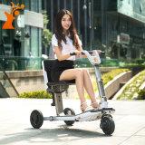 Roue transformable en gros du scooter 3 de bonne qualité pliant le scooter électrique