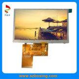 4.3-Inch 480 (RGB) *272p TFT LCD Bildschirmanzeige mit kapazitivem Touch Screen