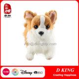 Brinquedo macio do luxuoso do cão dos animais enchidos dos presentes
