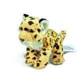 Jouet de peluche de léopard bourré par coutume