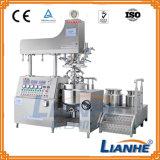 Máquina de mistura emulsificadora de homogeneizador de vácuo com três tanques
