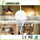 Lohas LEDの電球60ワットの同等の(9W)涼しく白い一般目的A19 LEDの球根、E27ベース