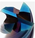 Торцевая фреза каннелюр карбида 4 вольфрама твердая от профессионального изготовления