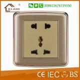 Borne 2 Pin et 3 plot électrique de fiche de 13 ampères