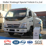 vrachtwagen van de Sproeier van het Vervoer van Water 4 van 5cbm 5ton Foton de Euro met de Motor van Cummins