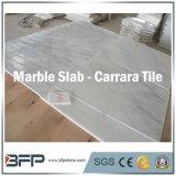 Mármore branco de China Carrara, parte superior da vaidade de quartzo e bancada de pedra da cozinha