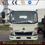 Mini-fourgonnette HOWO 6 Wheeler Cargo Camion léger