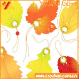 Custom Leaves Paper Book Mark Souvenir Gift (YB-HR-2)