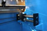 Máquina de dobra hidráulica da placa de Wc67k com A62
