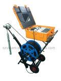 câmera impermeável da inspeção da perfuração de 300m/500m com contador de Deptho